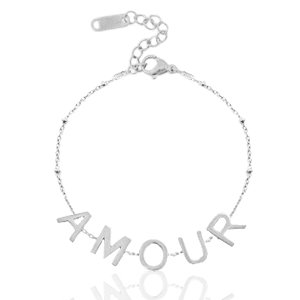 armband amour silver