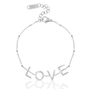 armband love silver